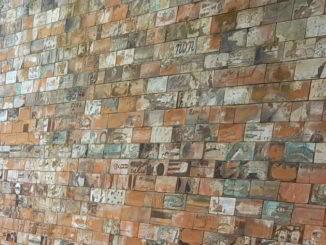 muro raku Albissola