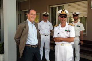 Guardia Costiera e sindaco Mauro Demichelis