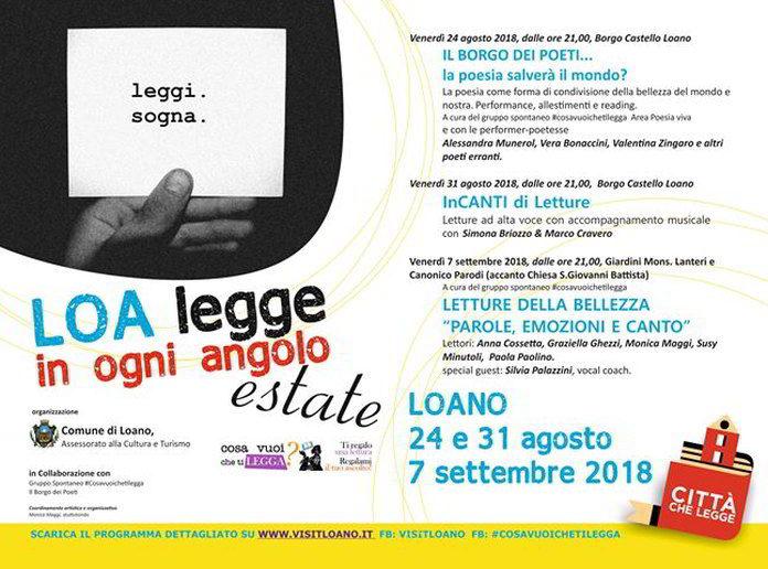 LOA Legge in Ogni Angolo programma
