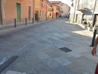 pavimentazione di Molino Nuovo Andora