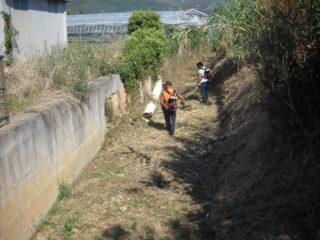 03 Pulizia rii e fossati ad Alabenga 2018