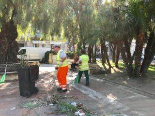 04 Piazza del popolo pulizia Albenga