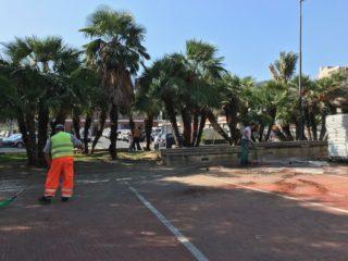 08 Piazza del popolo pulizia Albenga