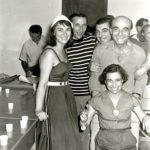 02 Lucio Fontana con Nalda Mura Mauro Reggiani e Antonio Siri. Comune di Albissola Marina anni 50