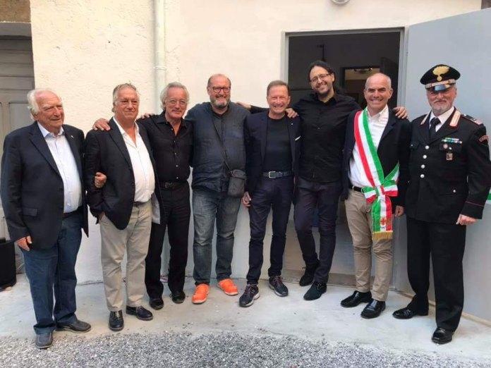03 – Teatro Ambra – foto di gruppo – Albenga 2018