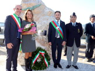 Targa commemorativa Albenga 1918 2018