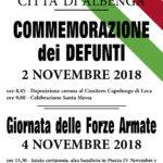 manifesto 4 novembre albenga