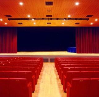 teatro Gassman da corridoio centrale