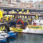 01 Manifestazione Coldiretti al Porto di Genova