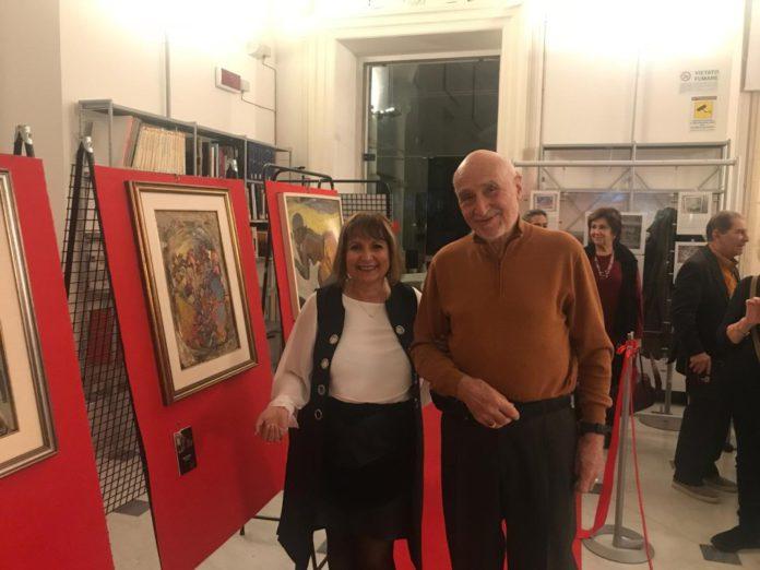 01 Mostra di Nenne Sanguineti Poggi a Villa Imperiale Genova