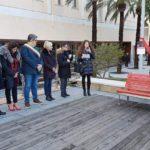 01 Panchina rossa contro violenza sulle donne Loano
