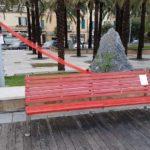 02 Panchina rossa contro violenza sulle donne Loano