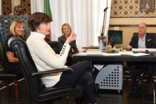 03 Eurodeputato Lara Comi incontro ad Alassio
