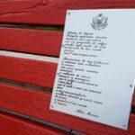 03 Panchina rossa contro violenza sulle donne Loano