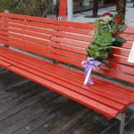 05 Panchina rossa contro violenza sulle donne Loano