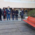 06 Panchina rossa contro violenza sulle donne Loano