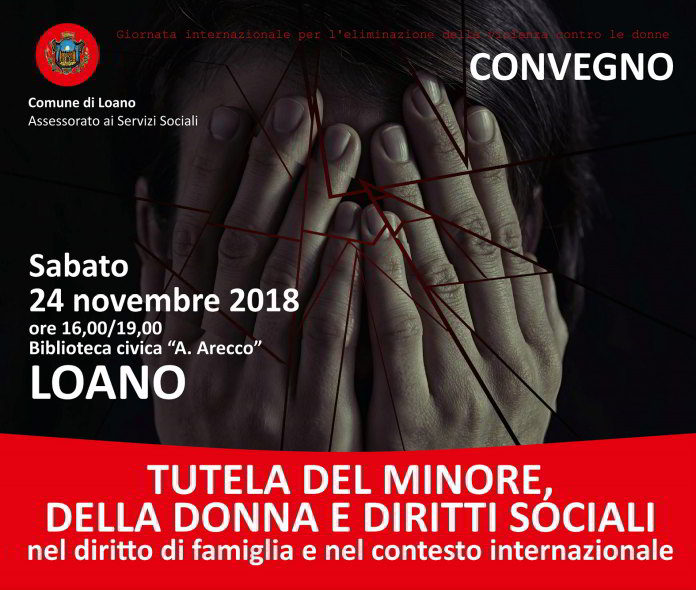 Convegno Tutela del minore della donna e diritti sociali a Loano
