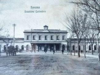 La Stazione Letimbro a Savona in una foto storica