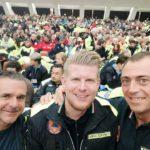 01 Gruppo intercomunale di Protezione Civile Val Merula e Montarosio alludienza di Papa Francesco