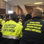 02 Gruppo intercomunale di Protezione Civile Val Merula e Montarosio alludienza di Papa Francesco