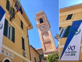 Celebrazione 90 anni del Comune di Tovo San Giacomo SV