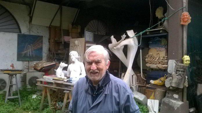 Flavio Furlani in atelier