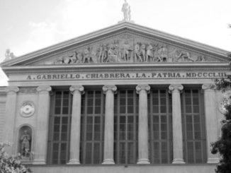 Il Teatro Chiabrera di Savona