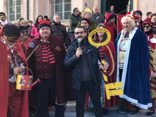 01 CarnevaLöa consegna chiavi Loano 2019