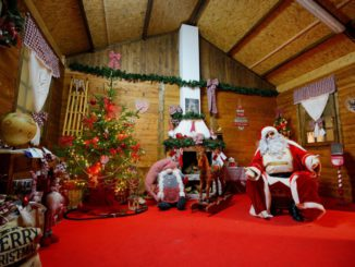 Christmas town Alassio