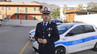 Polizia locale Alassio comandante Francesco Parrella