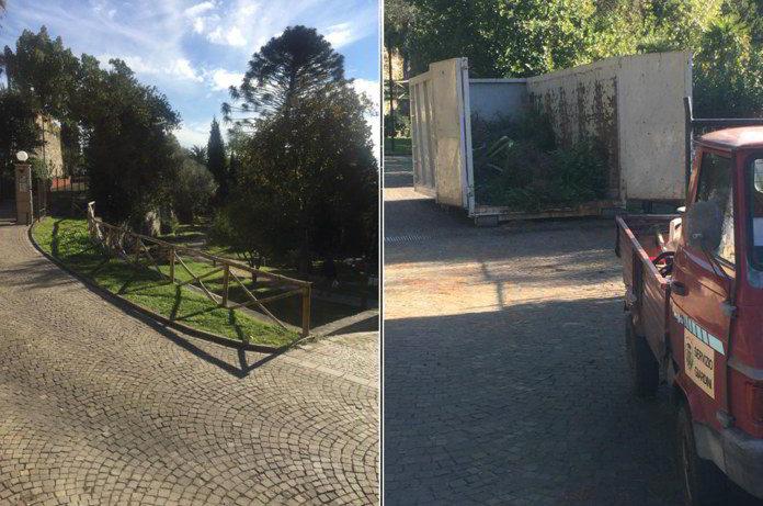 Villa Fiske Alassio lavori