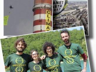 Greenpeace incontro a Savona