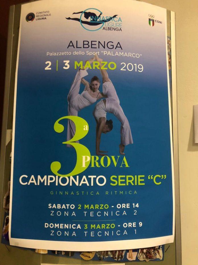 01 Campionati di serie C di ginnastica ritmica Albenga
