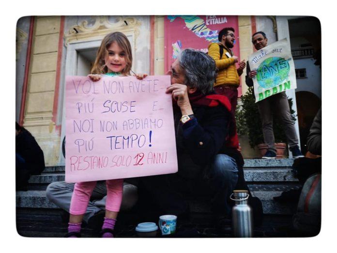 02 Fridays for Future Genova in piazza De Ferrari