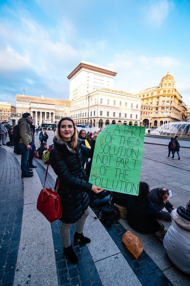 03 Fridays for Future Genova in piazza De Ferrari