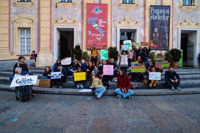 05 Fridays for Future Genova in piazza De Ferrari