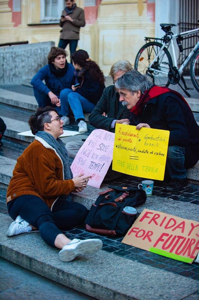 06 Fridays for Future Genova in piazza De Ferrari