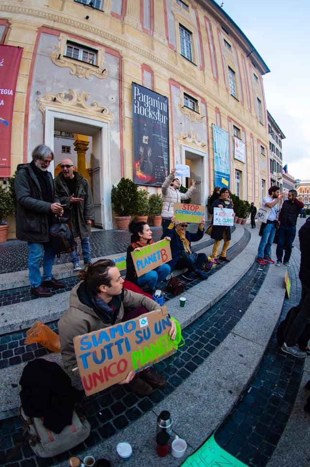 07 Fridays for Future Genova in piazza De Ferrari