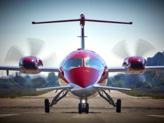 un Evo prodotto da Piaggio Aeropace
