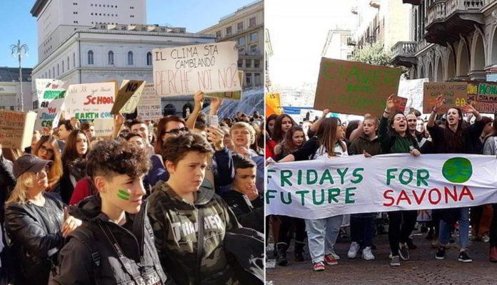Friday Future Genova e Savona