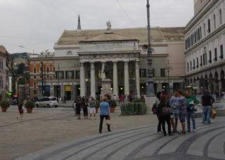 Genova Carlo Felice piazza effe