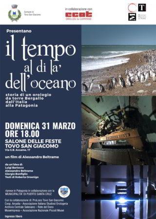 Locandina film Orologio in Patagonia