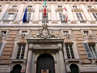 Facciata di Palazzo Tursi a Genova