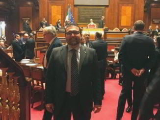 Paolo Ripamonti in aula Senato