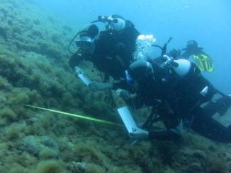 sub immersione Alassio Albenga