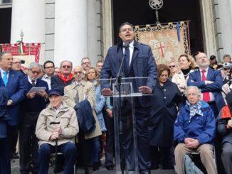 01 Celebrazioni 25 aprile 2019 presidente Toti a Genova