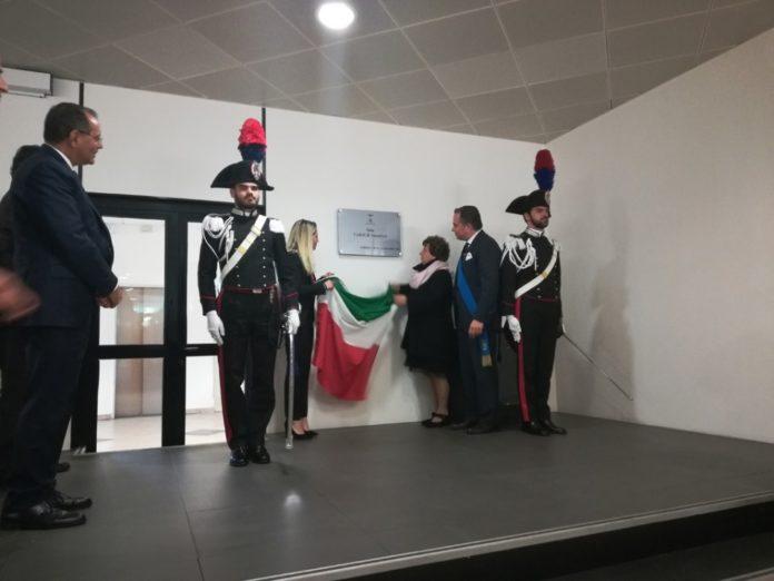 03 intitolazione Sala espositiva Provincia Savona ai Caduti di Nassiriya.