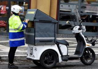 Poste Italiane triciclo 2019