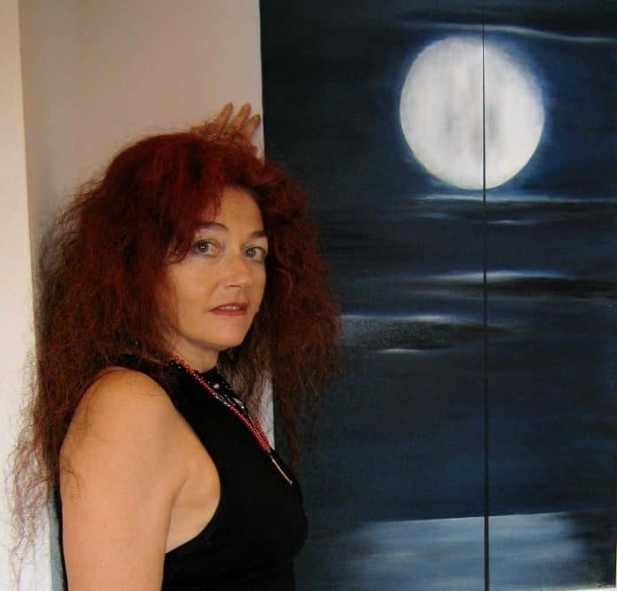 Serenella Sossi e opera lunare