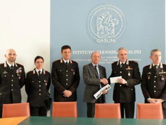01 Arma Carabinieri doazione al Gaslini